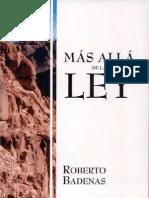 Adventista-BADENAS, Roberto - Mas Alla de La Ley