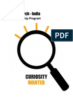 Internship Opporutnities @ IBM Research-India