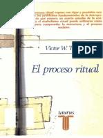 Victor Turner El Proceso Ritual