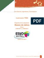 Base de Datos 2014