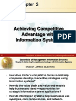 Achieving Competitive Advantage with Information systems