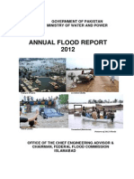Annual Flood Report 2012