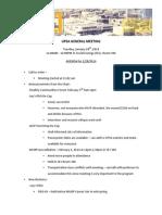 UPSA Minutes 1.28.14