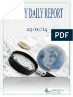 Daily Equity Report by Global Mount Money 29-01-2014