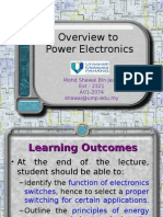 Power Electronics- Chapter 1