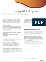 tricare young adult