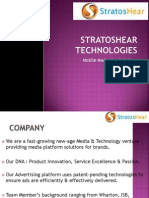 Mobile Advertising With Stratoshear Technologies