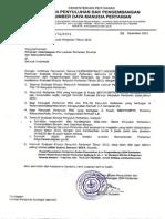 Surat Evaluasi Kinerja Pp2013