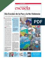 Día Escolar de la Paz y la No Violencia.La Voz de la Escuela.29.01.2014