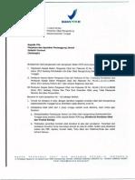 Single DXM Recall Letter