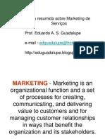 Aula de Marketing de Serviços - Eduardo Guadalupe