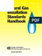 Natural Gas Installation Standards
