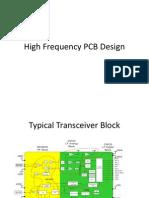 RF PCB Design