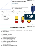 Accumulators Selection and Design