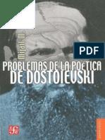 Bajtin, Mijail - Problemas de la poética de Dostoievski.pdf