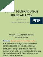 3. Prinsip Pembangunan Berkelanjutan