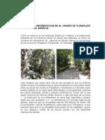 Acciones de Reforestación en el vivero de Floraplant en Tetecalita 19/08/2013