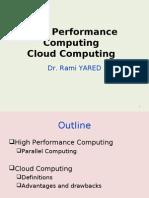 High Performance Computing Cloud Computing