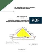 Protejarea Cu Geomembrana a Barajelor in Materiale Locale Impotriva Infiltratiilor