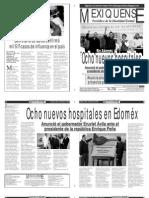 Versión impresa del periódico El mexiquense 28 enero 2014