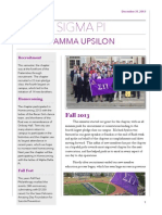 2013 Fall Active Chapter Newsletter