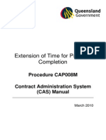 Extension of Time for Practical