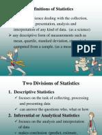 Statistics (1)