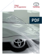 TOYOTA-V5 15217 Body Paint Sales Guide