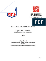 NFL 2010 Drug Policy