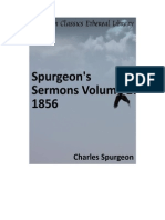 Spurgeon's Sermon Volume 2