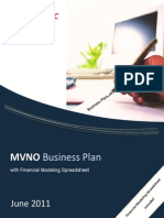 Brochure - MVNO Business Plan wSpreadsheet June2011f