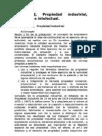 Propiedad Industrial, Comercial e Intelectual