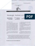 Strategic Action at Lenovo