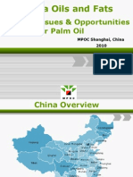 92310ChinaOilsFatsMarket IssuesOpportunities PalmOil PPTSlides