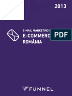 FUNNEL E-Mail Marketing Benchmark E-Commerce Romania 2013