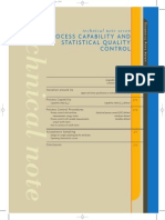 Process Capability and Stastical Quality Control