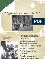 Migración Campo- Ciudad