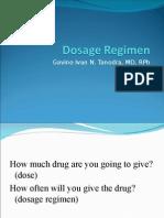 07 Dosage Regimen