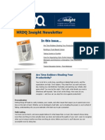 HRDQ Insight Newsletter - October 2013