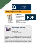 HRDQ Insights Newsletter - January 2014