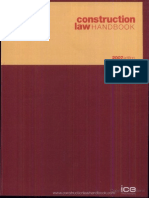 Construction Law Handbook Vivian Ramsey Important Pages