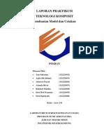 Laporan Praktikum Komposit- Model dan Cetakan
