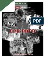 Contrainsurgencia México Cedema