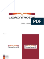 Lizmontagens logo Graphic Standards Guide