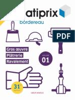 Extrait Batiprix 2014