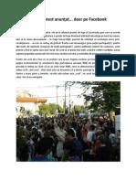 Cronica Unui Protest Anuntat... Doar Pe Facebook