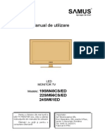 Manual de Utilizare Televizor Led Samus 19sm48cs 8020525 m