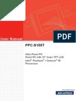 Ppc-s155t User Manual Ed2.Final
