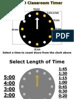 Timer for ppt