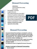 Demand Forecasting ME